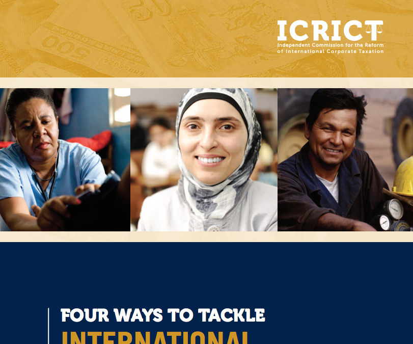 ICRICT: Four ways to tackle international Tax Competition
