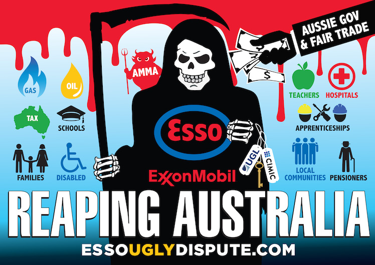 Billion Dollar Reaper: how ExxonMobil exploits Australia and PNG