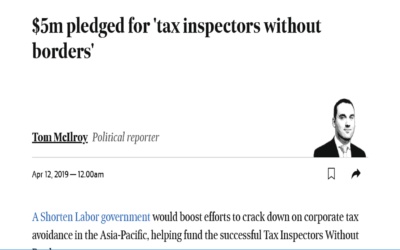 $5m pledged for 'tax inspectors without borders'