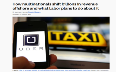 How multinationals shift billions in revenue offshore and what Labor plans to do about it