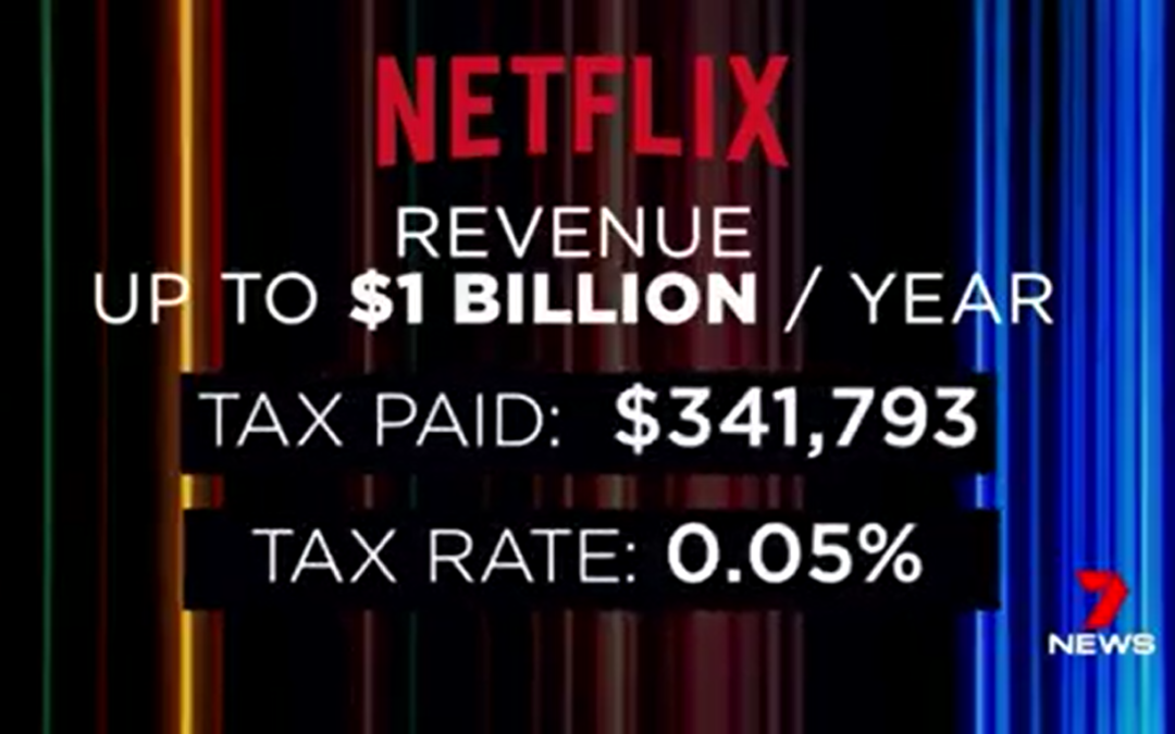 Netflix Australia revealed to be paying minimal tax