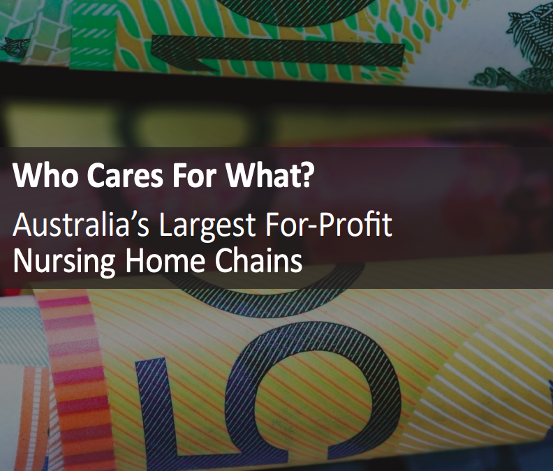 Australia's Largest For-Profit Nursing Home Chains