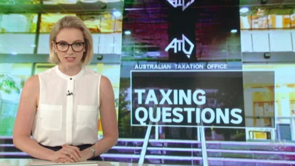 The company with links to tax havens awarded a deal with the ATO – The Business (video)