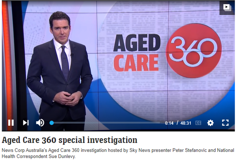 Aged Care 360 special investigation